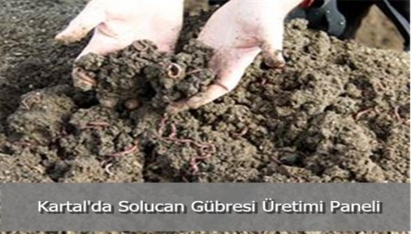 Kartal´da Solucan Gübresi Üretimi Paneli
