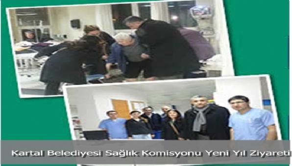Kartal Belediyesi Sağlık Komisyonu Yeni Yıl Ziyareti