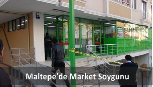 Maltepe´de Market Soygunu