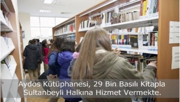 Aydos Kütüphanesi, Öğrencilerin Ders Çalışma Mekanı Oldu.