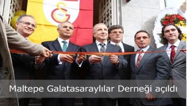 Maltepe Galatasaraylılar Derneği açıldı