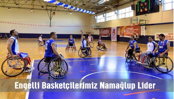 Engelli Basketçilerimiz Nağmalup Lider.