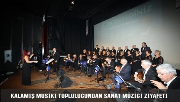 Kalamış Musiki Topluluğundan Sanat Müziği Ziyafeti