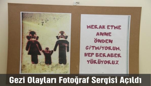 Gezi Olayları Fotograf sergisi açıldı