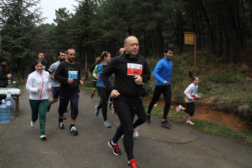 4. Aydos Patika Yarışının İkinci Ayağı Koşuldu