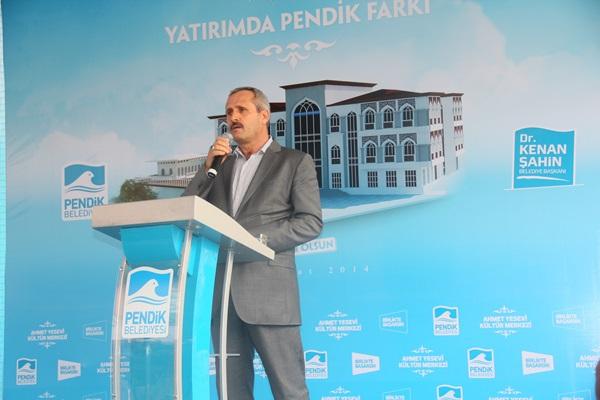Ahmet Yesevi Kültür Merkezi'nin temeli atıldı