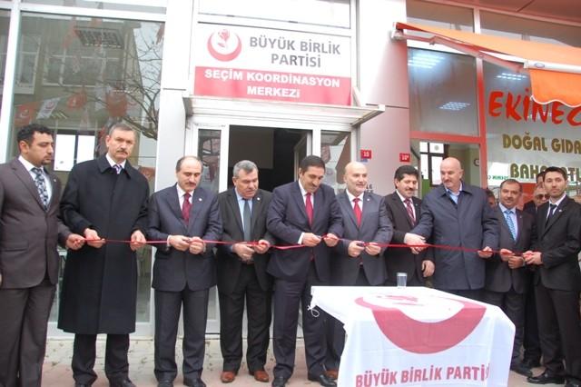 BBP Seçim Kordinasyon Merkezini Açtı