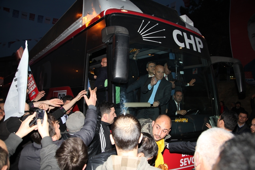 CHP Seçim Kordinasyon Merkezini Açtı