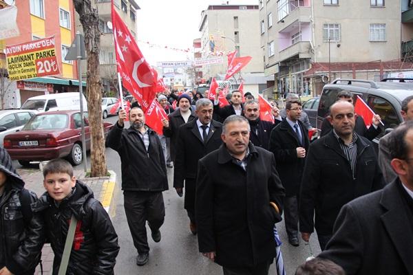Pendik Saadet Partisi Kavakpınar'ı Fethetti