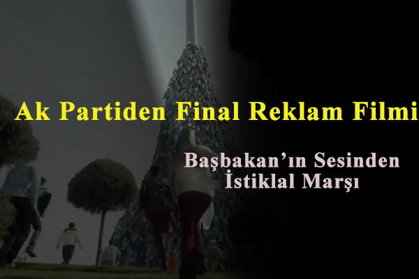 Başbakan Recep Tayip Erdoğan'ın 18 Mart Reklamı