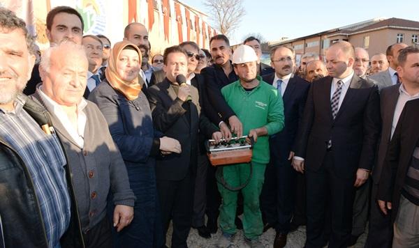Halil Türkkan Ortaokulu'nun Temeli Atıldı