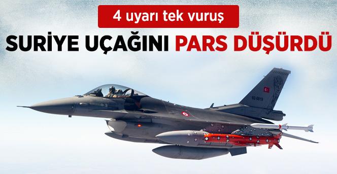 Türkiye Sınırını İhlal Etti ! Tek Atışta Düşürüldü