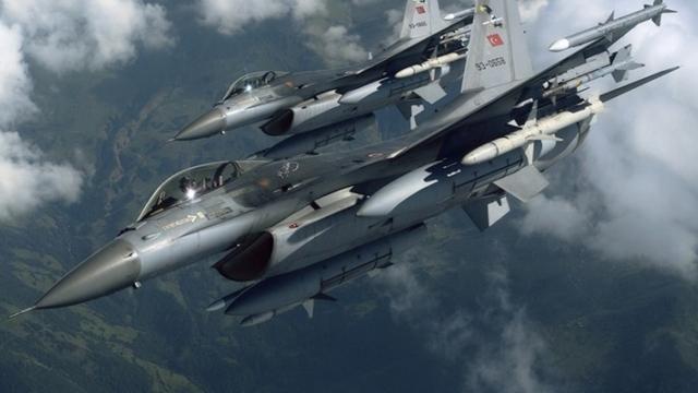 Suriye Uçakları Yine Sınırda