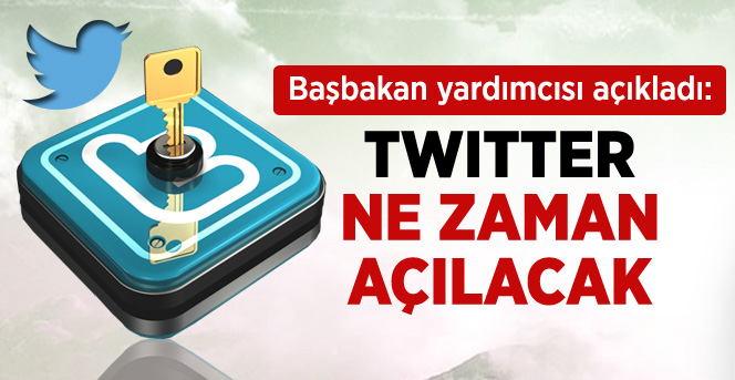 İŞLER; Twitter birkaç güne kadar kullanıma açılacak