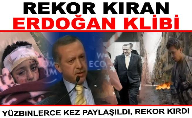 Erdoğan'ın Yeni Rekor kıran videosu