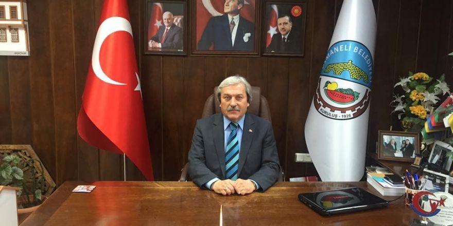 MHP Mut İlçe Başkanı istifa etti