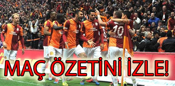 Galatasaray & Fenerbahçe Geniş Özeti