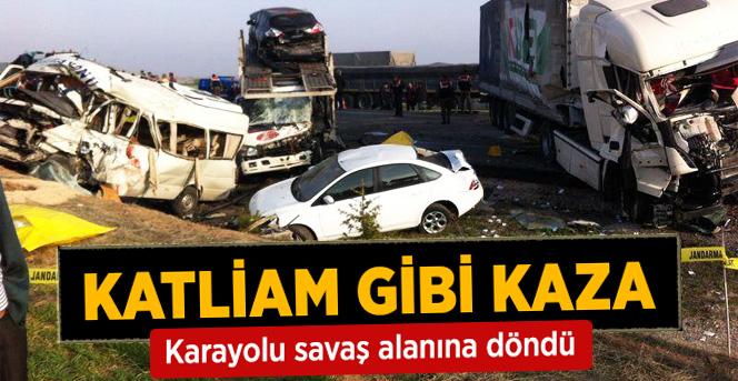 Katliam Gibi Kaza