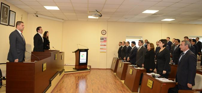 Tuzla Belediye Meclisinde  Görev Dağılımı