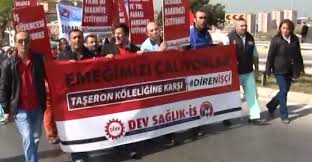 Kartal'da Taşeron İşçileri Eylem Yaptı