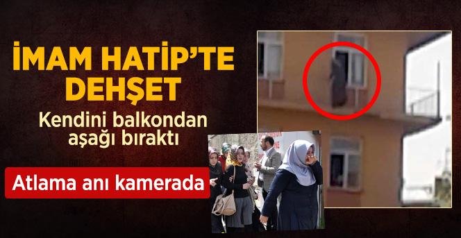 Kız Öğrenci Okul Balkonundan Atladı