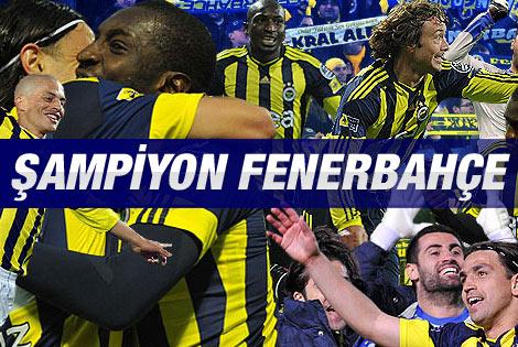 9.Yıl Aradan Sonra Şampiyon Fenerbahçe