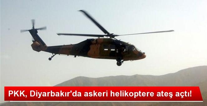 Pkk Diyarbakır'da Askeri Helikoptere Ateş Açtı