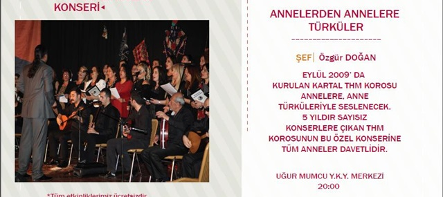 Anneler Gününe Özel Konser