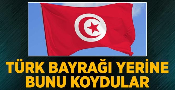 Türk Bayrağı Yerine Bunu Koydular