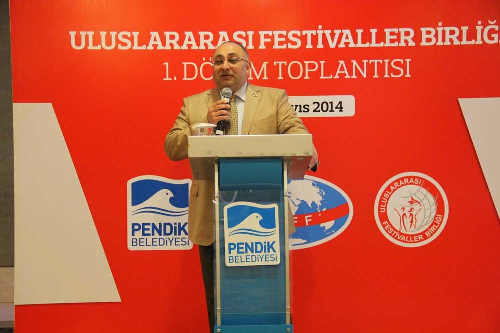 Uluslararası Festivaller Birliği 1.Dnm Toplantısını Pendikte Yaptı