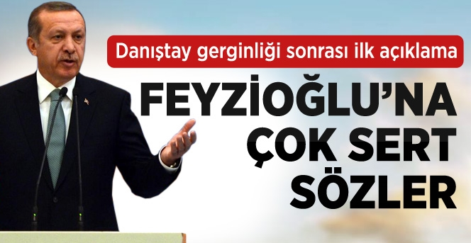 Erdoğan'dan Feyzioğlu'na: Senden Bir Şey Olmaz