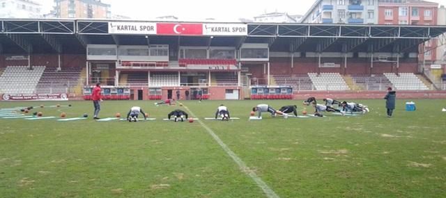 Kartalspor'lu Futbolculardan Maça Çıkmama Kararı