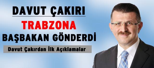 Davut Çakır Trabzon Büyük Şehir Bel. Genel Sekreteri Oldu