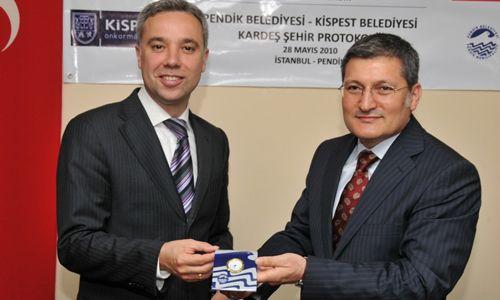 Kispest Belediyesi ile kardeş olduk