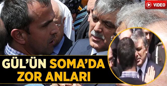 Soma'da Abdullah Gül'e Sitem