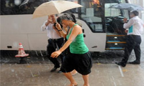 Aşırı Yağış Su Baskınlarına Sebeb Oldu
