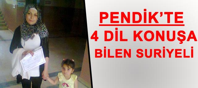 Pendik'te 4 dil bilen Suriyeli