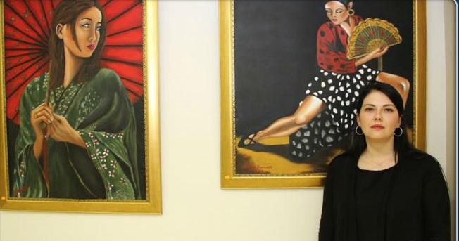 Kartal'da Şenay Kerimkar'dan Resim Sergisi