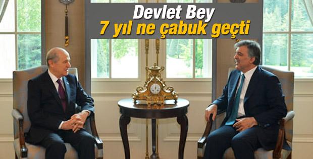 Abdullah Gül: 7 yıl ne çabuk geçti