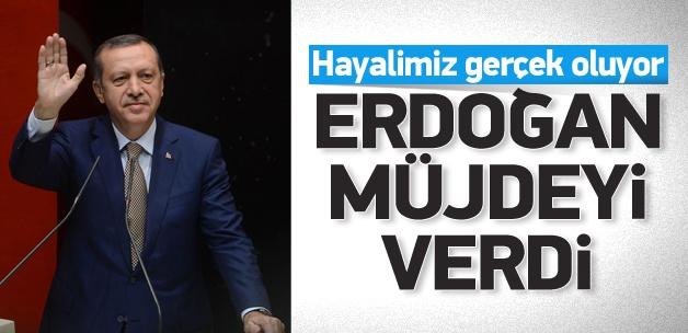 """Erdoğan müjdeyi verdi """" Hayalimiz Gerçek Oluyor"""""""
