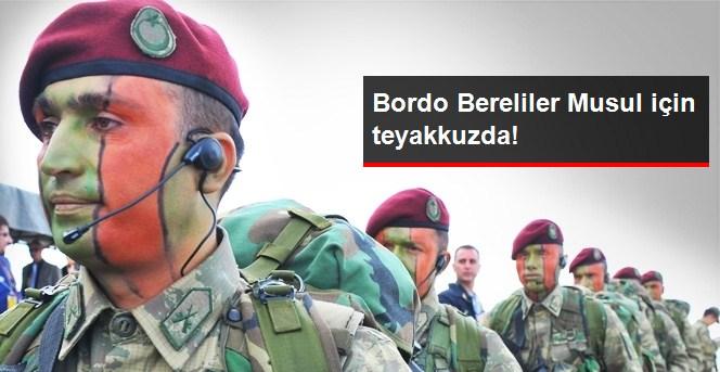 Bordo Bereliler Musul İçin Teyakkuzda!