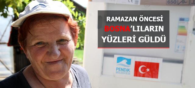 Pendik Belediyesinin yardımı Bosna'ya Ulaştı