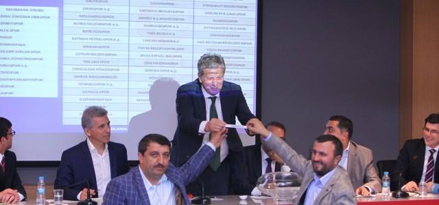Spor Toto 2.lig kura çekimleri gerçekleştirildi