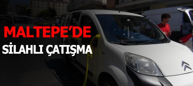 Maltepe'de silahlı çatışma