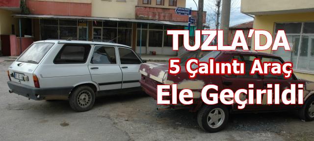 Tuzla'da Araba Hırsızları Yakalandı!