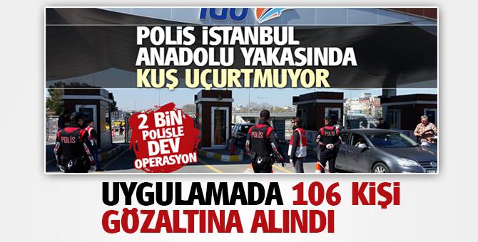 'Kurt Kapanı 2' uygulamasında 106 kişi gözaltına alındı