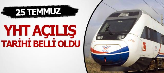 """Lütfü Elvan Açıkladı """"YHT hattı 25 Temmuz'da Açılacak"""""""