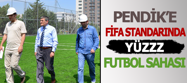 Pendik'e 5. Yılda 100 Futbol Sahası