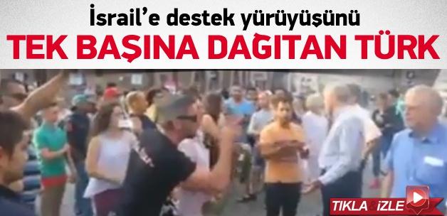 İsrail'e destek yürüyüşünde Türk şoku