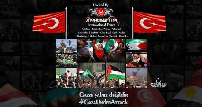 İsrail televizyonlarını hackledi